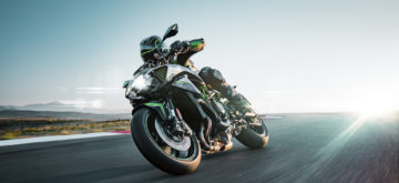 Kawasaki lève le voile sur sa Z H2 suralimentée
