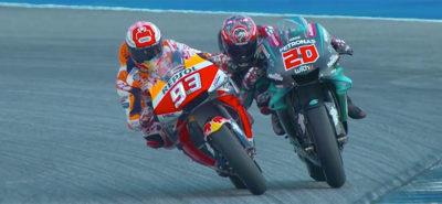 Jour de gloire pour Marc Marquez et (presque) pour Fabio Quartararo! :: MotoGP Thaïlande