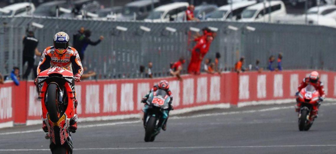 Le roi Marquez transfome sa pole en nouvelle victoire au Japon