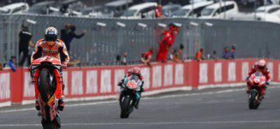 Le roi Marquez transfome sa pole en nouvelle victoire au Japon :: Sport