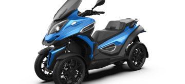 Quadro annonce un eQooder électrique à 4 roues inclinables
