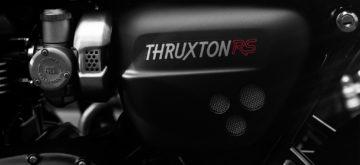 Triumph tease une nouvelle version de la Thruxton RS
