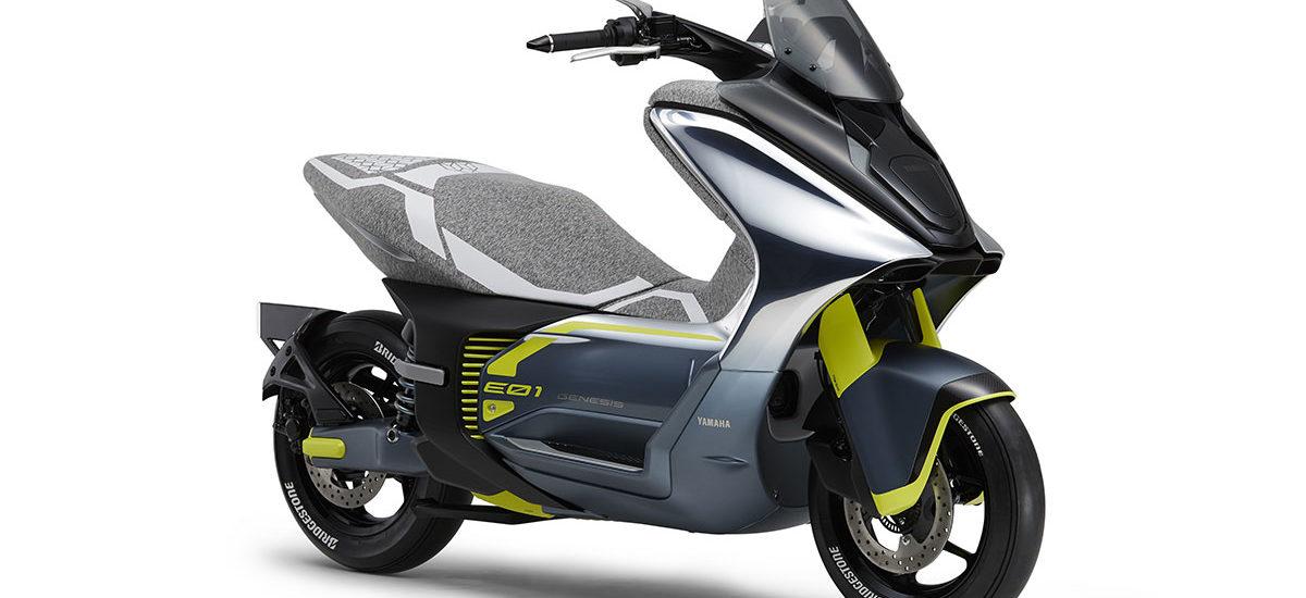 Les futurs scooters et motos électriques de Yamaha seront montrés à Tokyo