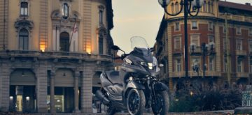 Yamaha Europe annonce un Tricity 300