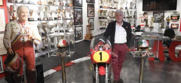 Le «roi» Giacomo Agostini a désormais son musée