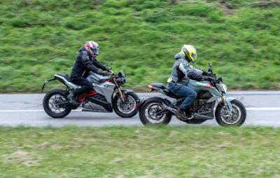 Duel électrique: la Zero SR/F contre l'Energica Eva :: Comparo roadsters