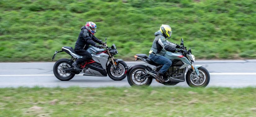 Duel électrique: la Zero SR/F contre l'Energica Eva :: Comparo roadsters :: ActuMoto