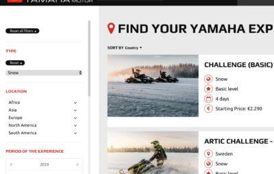 De nouvelles destinations sur le portail Yamaha pour 2020 :: Voyage et aventure