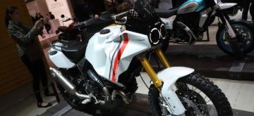 Le Scrambler Ducati Desert X, un concept tout-terrain