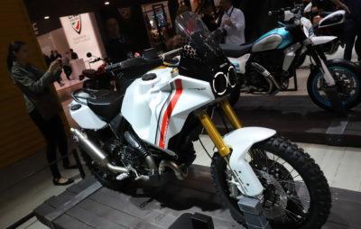 Le Scrambler Ducati Desert X, un concept tout-terrain :: Salon de Milan