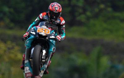 Superbe pole position de Fabio Quartararo. Erreur et chute pour Marc Marquez! :: MotoGP Malaisie