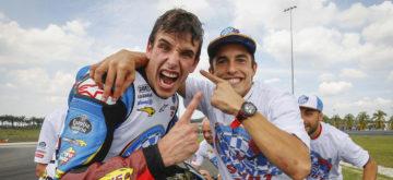 Les frères Marquez réunis au sein du Repsol Honda HRC!
