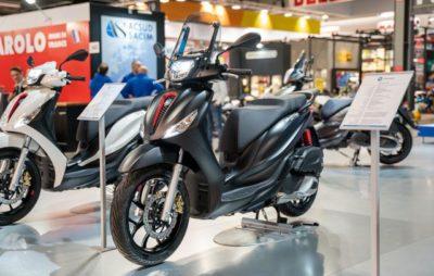 Puissance en hausse et connectivité pour le Piaggio Medley 125 :: Nouveauté 2020