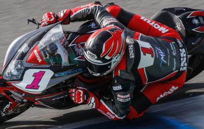 Randy Krummenacher en tête à Jerez avec sa MV Agusta :: WorldSSP tests