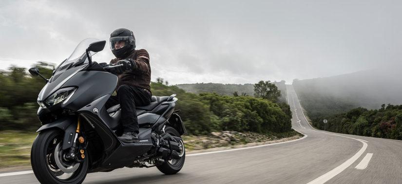 Sans concurrence, le TMAX évolue pour plaire encore plus :: Test Yamaha :: ActuMoto