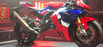 La Honda CBR 1000 RR-R dévoilée au MAD de Lausanne