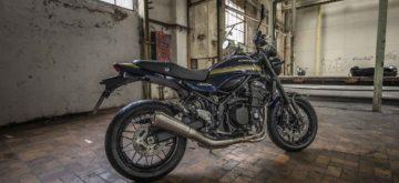 Une éditions spéciale suisse de la Kawasaki Z 900 RS