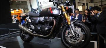 Trois agents représenteront Triumph à Swiss-Moto 2020