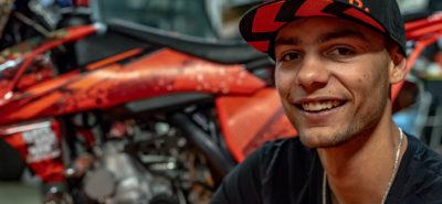 Portrait : Niels Velema, de la moto chinoise au back-flip :: Freestyle