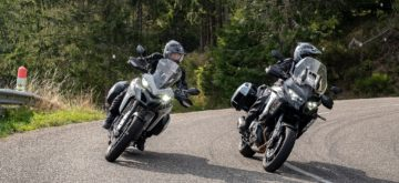Kawasaki 1000 Versys SE / Ducati Multistrada 950 S – Mise à jour 2.0