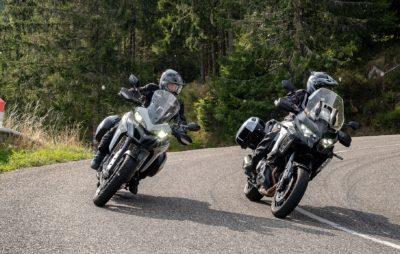Kawasaki 1000 Versys SE / Ducati Multistrada 950 S – Mise à jour 2.0 :: Comparatif