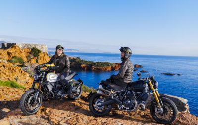 Les Scrambler Ducati 1100 PRO, ou l'évolution du «grand» Scrambler :: Nouveauté 2020
