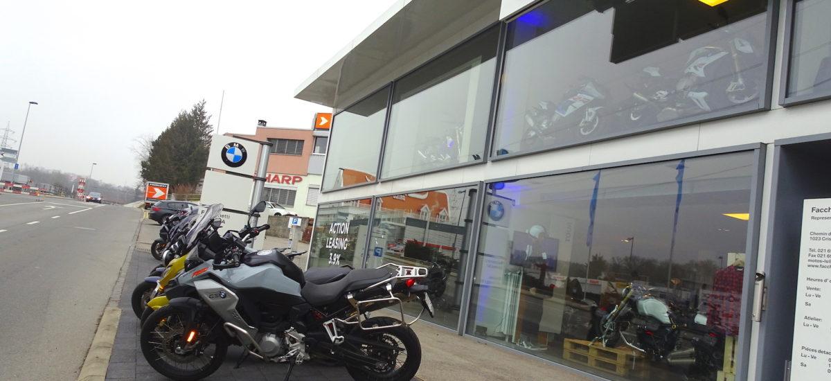 Une nouvelle concession Yamaha chez Fachinetti Motos à Crissier