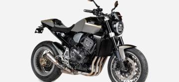 Une Honda CB 1000 R «Stardust» incrustée de pierre de météorite