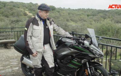 La nouvelle Kawasaki Ninja 1000 SX en test près de Cordoue :: Sport-touring