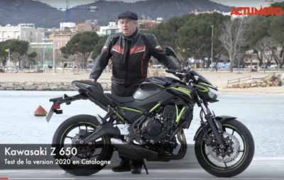 Test de la Kawasaki Z 650 (version 2020) près de Girona :: Un twin amusant et abordable