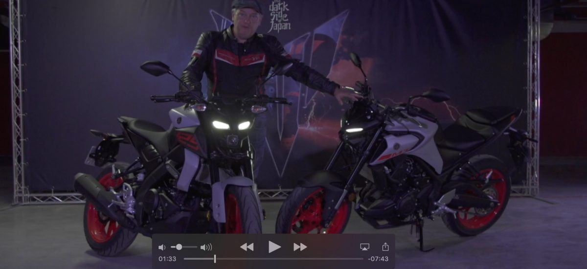 Notre test des Yamaha MT-03 et MT-125 (versions 2020)