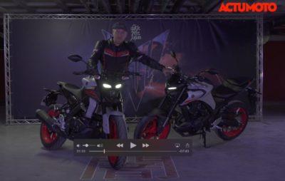 Notre test des Yamaha MT-03 et MT-125 (versions 2020) :: Motos pour jeunes permis