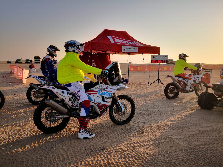 Nicolas Brabeck 49 KTM 450 Dakar 2020 Actumoto.ch