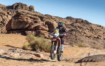 3ème étape: top 3 pour Honda, abandon pour Van Beveren :: Dakar 2020