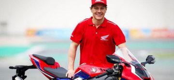 Dominique Aegerter sera le pilote d'essai officiel du Honda HRC en WorldSBK pour 2020