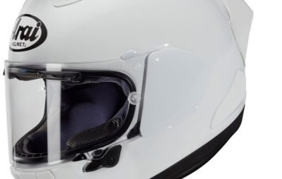 Arai lance le RX-7V Racing, avec un spoiler! :: Nouveauté 2020