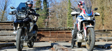 L'Africa Twin 1100 Adventure Sports se rapproche de la GS