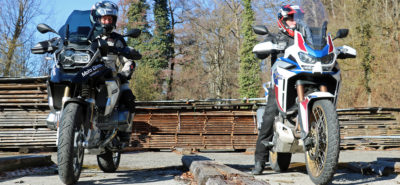 L'Africa Twin 1100 Adventure Sports se rapproche de la GS :: Comparo