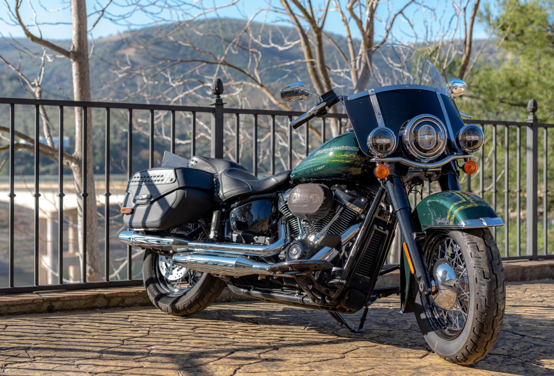 Harley-Davidson Heritage Classic114 ActuMoto MAthias Deshusses