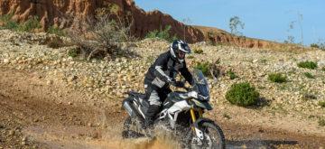 Test de la nouvelle Tiger 900 au Maroc