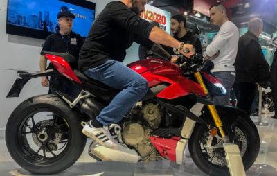Tout savoir en live sur le nouveau Streetfighter V4 de Ducati :: Nouveauté 2020
