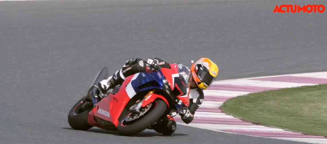 Test de la Honda CBR 1000 RR-R sur le circuit de Losail