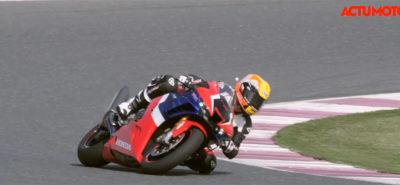 Test de la Honda CBR 1000 RR-R sur le circuit de Losail :: Essai sur piste