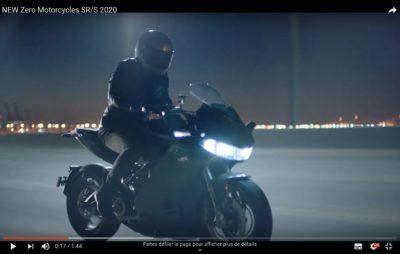 Zero dévoile les contours de sa première moto carénée, la SR/S :: Sportive électrique