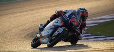 Albert Arenas remporte la course. Jason Dupasquier termine 25e pour sa première apparition dans l'élite! :: Moto 3 Qatar
