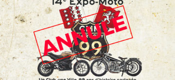 Annulation de l'Expo-Moto 2020 à Martigny