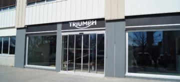 Triumph Lausanne by Moto Evasion ouvrira dès la crise du Covid-19 passée