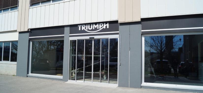 Triumph Lausanne by Moto Evasion ouvrira dès la crise du Covid-19 passée :: Commerce moto :: ActuMoto