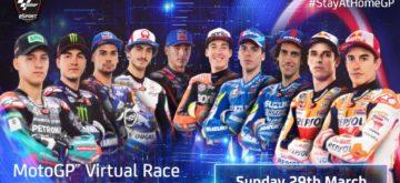 La première course de MotoGP de l'année sera virtuelle