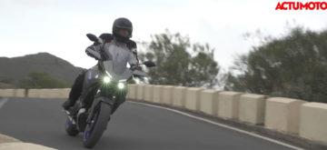 Test de la Yamaha Tracer 700 à Ténérife